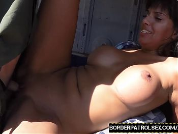 Silly Latina you can't escape the cock