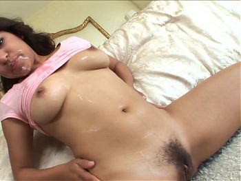 Latina fucked by two men