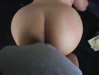 BBW latina fucked and facialed in van.