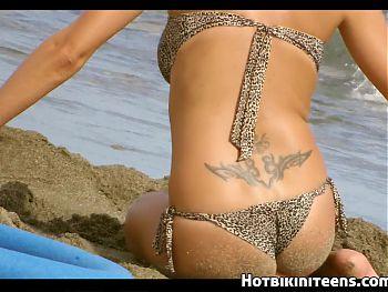 Topless Beach Bikini babes HD Voyeur Spycam Video