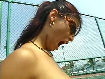 Pretty Big Titis Milf fucks in Beach Club