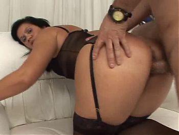 Milf Latina Black Stockings Sex