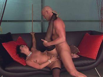 Latina horny on sex